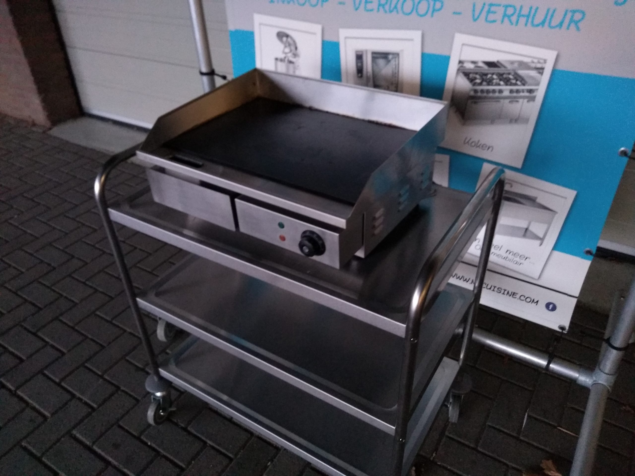 Electric griddle bakplaat Image